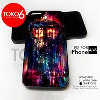 AJ 2604 Tardis Box Color Light - iPhone 4/4s Case