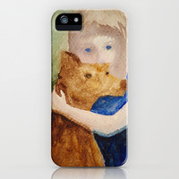 hug iPhone & iPod Case by rysunki-malunki