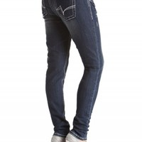 Sasha Jegging Double Button Jeans