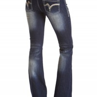 SASHA BOOT ARROW STITCH JEANS