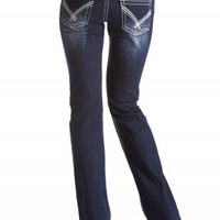 DAKOTA BOOT DOUBLE BUTTON JEANS