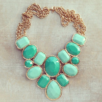 SAILING STATEMENT NECKLACE