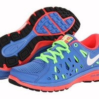Nike dual fusion run 2 blue women's running shoe BNIB