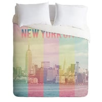 Catherine McDonald New York City Duvet Cover