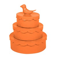 Stray Dog Designs Birdie Box Set-Pumpkin Blush