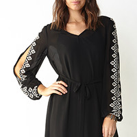 Geo Dazzle Shift Dress