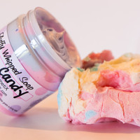 Fluffy Whipped Soap - Cotton Candy Blue Pink 4 oz. Vegan
