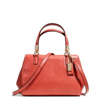 COACH Madison Mini Satchel in Leather at Von Maur