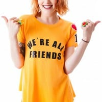 We're All Friends Retro Raglan