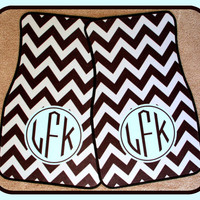 Gift Ideas Car Accessories Monogrammed Car Mat Multi-Color Great Font Personalized Car Mats Monogrammed Car Mats