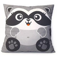 Deluxe Raccoon Pillow