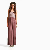 Women's Casablanca Maxi Dress (Blackberry)