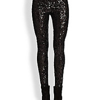 BCBGMAXAZRIA - Sequin Pants - Saks Fifth Avenue Mobile