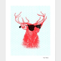 """Young Buck"" - Numbered Art Print by Nick Nelson on Curioos"