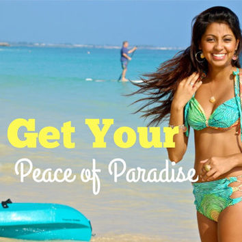 Waimanalo VERASATILE Bikini Top - Create Your Own - Great for Surfing