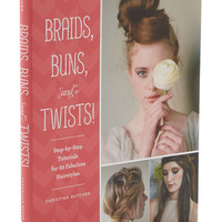Braids, Buns, and Twists | Mod Retro Vintage Books | ModCloth.com
