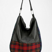 Rag Union X Urban Renewal Hobo Tartan Bag - Urban Outfitters
