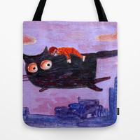sleeping boy Tote Bag by Marianna Tankelevich