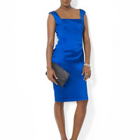 Women's Apparel | Dresses | Sleeveless Square-Neck Dress | Lord and Taylor
