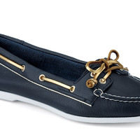 Women's Audrey Slip-On Boat Shoe Blue