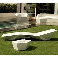 Vondom, Faz, Chaise, Lounge, Outdoor, Lounges, Pool, patio - HomeInfatuation.com