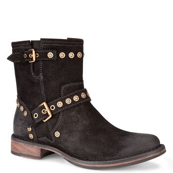 Ugg Australia Studded Suede Ankle Boots