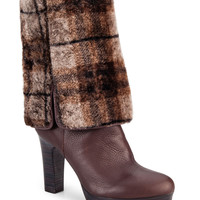 Women's Apparel | Cold Weather Shop | Savoie Leather & Spanish Merino Heeled Boots | Lord and Taylor