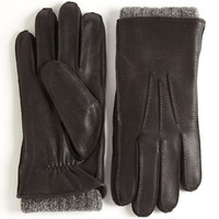Gifts For Him | Winter Accessories | 2-In-1 Knit Shearling Sheepskin Gloves | Lord and Taylor