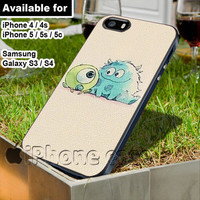 Monsters University Anime design WN for iPhone 4 / 4s / 5 / 5s / 5c case, Samsung Galaxy S3 / S4 case