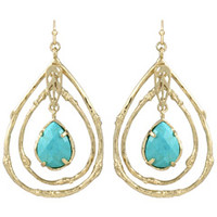 Kendra Scott Cypress Turquoise Earrings