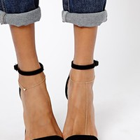 ASOS Pack of Two Fine Heart Anklet & Toe Ring