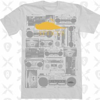 Atticus Clothing Mens BOOM BOX T Shirt - White