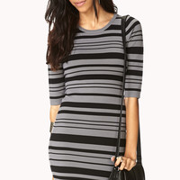 Sleek Sweater Bodycon Dress