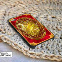 Sakura Clow Card Case For iPhone 4/4S iPhone 5/5S and Samsung Galaxy S3 S4