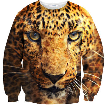 Fierce Leopard Sweater