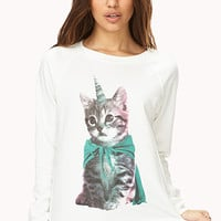 Unicorn Kitty Sweatshirt