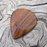Handmade Arizona Desert Ironwood Premium Guitar Pick - Mandolin Pick