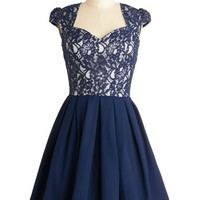 Loganberry Beautiful Dress in Navy | Mod Retro Vintage Dresses | ModCloth.com