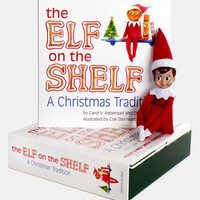 Carol Aebersold and Chanda Bell 'The Elf on the Shelf®: A Christmas Tradition™' Book & Boy Elf | Nordstrom