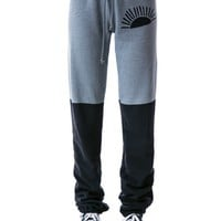 Split Color Sweatpants