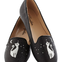 Purr-chance to Dream Flat | Mod Retro Vintage Flats | ModCloth.com