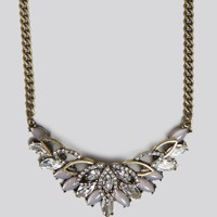 LOTUS STATEMENT NECKLACE