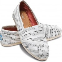 Music Notes Women's Classics