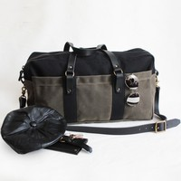 Black Moss Weekend Duffel | BRIKA - A Well-Crafted Life