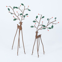 Holly Deer / Set of 2 - The Afternoon