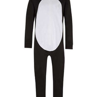 Black Penguin Onesuit - Men's Loungewear - Clothing