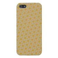Gold Decor Pattern 2 iPhone 5 Case