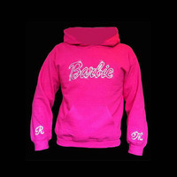 Super Cute Bling Barbie Hoodie