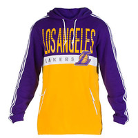 LOS ANGELES LAKERS COURT SERIES PULLOVER - Purple - adidas