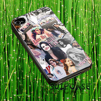 Lana Del Rey collage-Accessories,Case,Cover,IPhone4/4s,IPhone5/5s/5c,Samsun Galaxy s3 i9300,Samsung Galaxy s4 i9500-0210-V5o